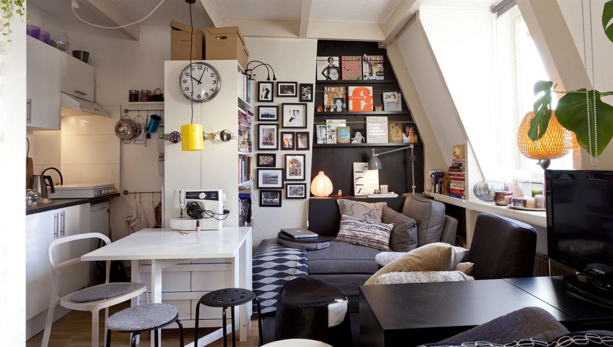 p bes g i et meget lille hjem beckers maling. Black Bedroom Furniture Sets. Home Design Ideas