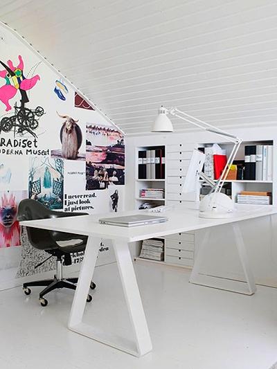 Inspiration til kontoret beckers maling for Ufficio tumblr