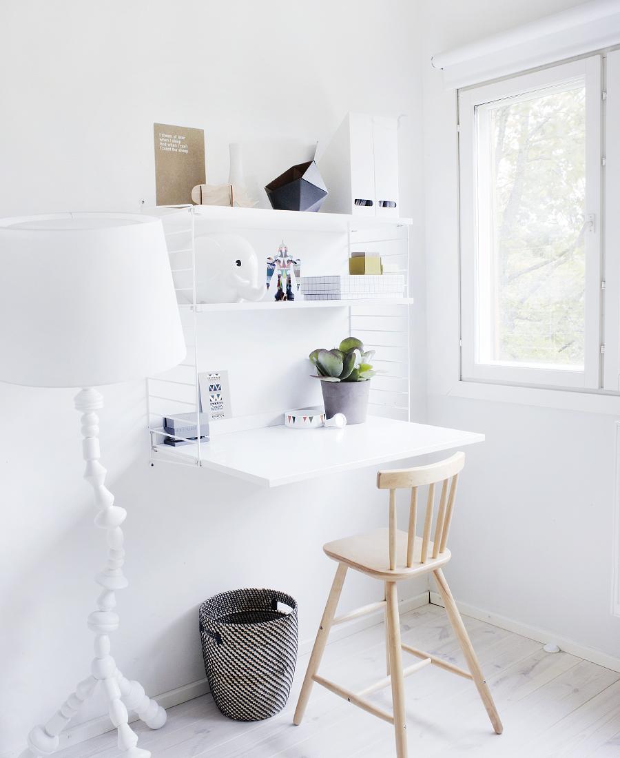 inspiration til kontoret beckers maling. Black Bedroom Furniture Sets. Home Design Ideas