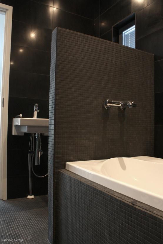 Når badeværelset går i sort!