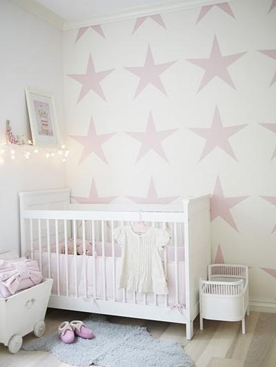 Dejlige pigev relser beckers maling - Papel pintado para habitacion de bebe ...