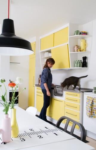 Retro 50'køkken – meget cool og meget oppe i tiden køkkenet er