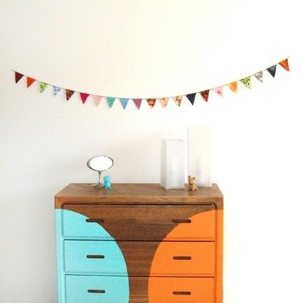 mal interior-móveis-pintura-decoração-casa-vintage cômoda retro-50s
