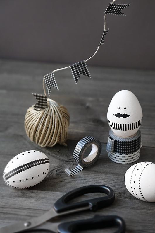 egg-aeg-easter-sort-hvid-paaske