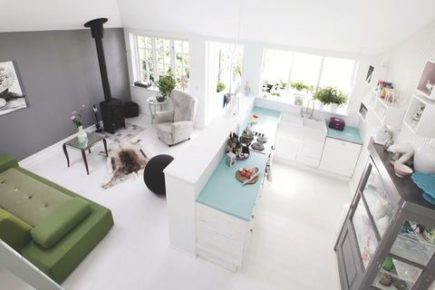 sommerhus-indretning-boligindretning-boligstylist-koekken-alrum