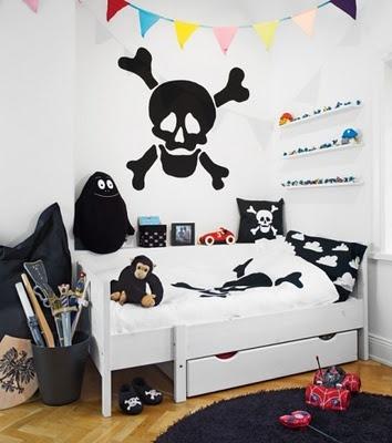 maling-doedninghovede-pirat-dreng-drengevaerelse-indretning