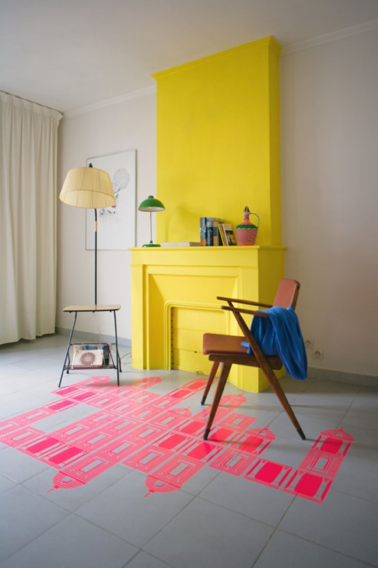 detaljer-indretning-gulv-neon-maling-bolig-boligindretning