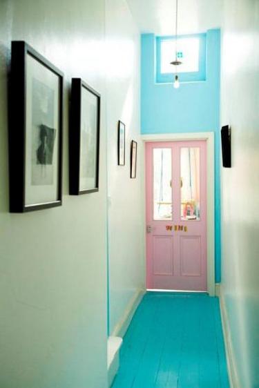 doere-doer-pink-rosa-indretning-boligindretning-turkis-gulv-malet