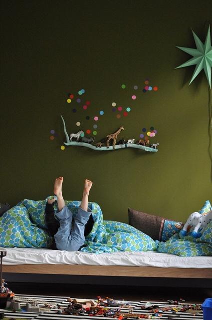 Drengevaerelser-boernevaerelse-indretning-bolig-dregn-leg-seng-junior