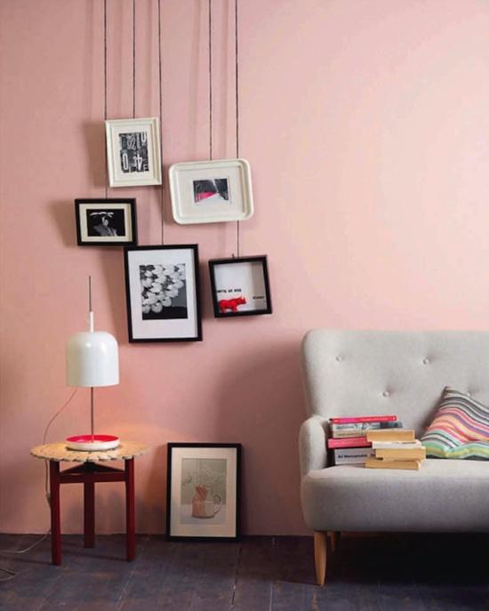 rosa-lyserød-indretning-bolig-pink-wall-lysroed-stue