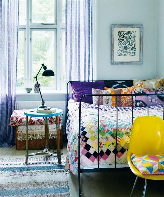 sovevarelse-indretning-romantisk-patchwork-bolig