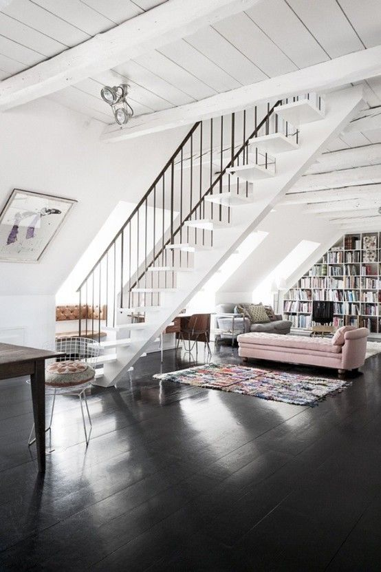 gulv-sort-mal-indretning