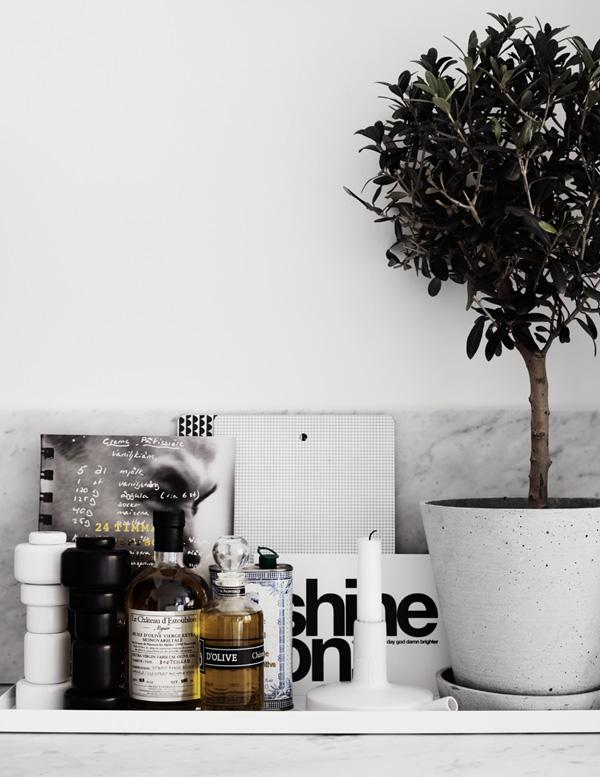 sort-hvid-black-indretning-bolig-koekken-interior