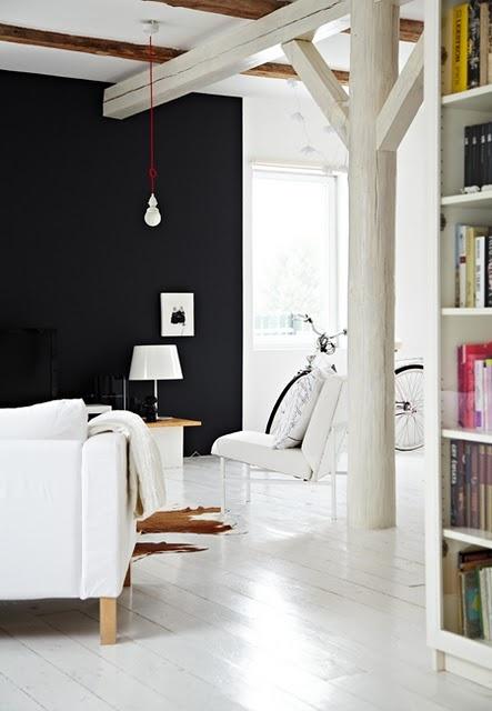 indretning-sort-vaeg-rum-stue