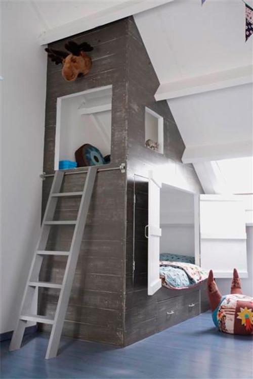 Udnyt skunken, byg en seng!