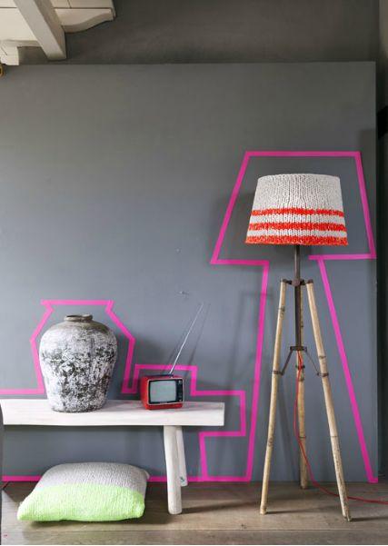 detalje-washitape-masking-tape-pink-neon-indretning
