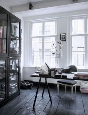 gulve-floors-gulvmaling-sort-indretning-bejdse