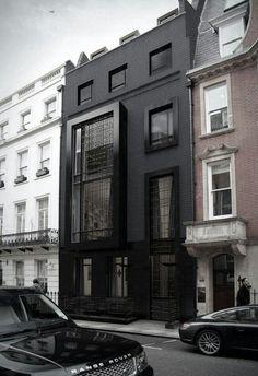 facade-hus-sort-maling