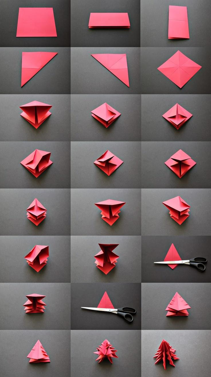 juletrae-origami