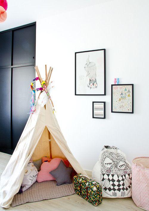 indretning-boernevaerelse-tent-telt