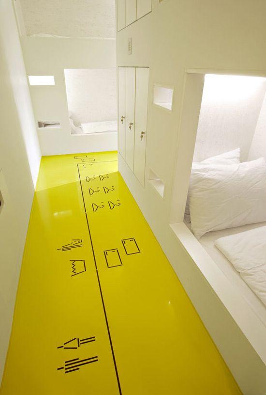 gult gulv