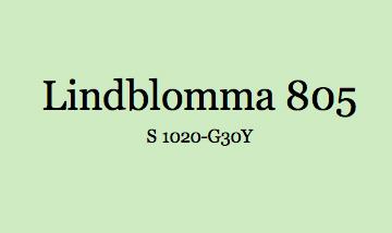 Lindblomma 805