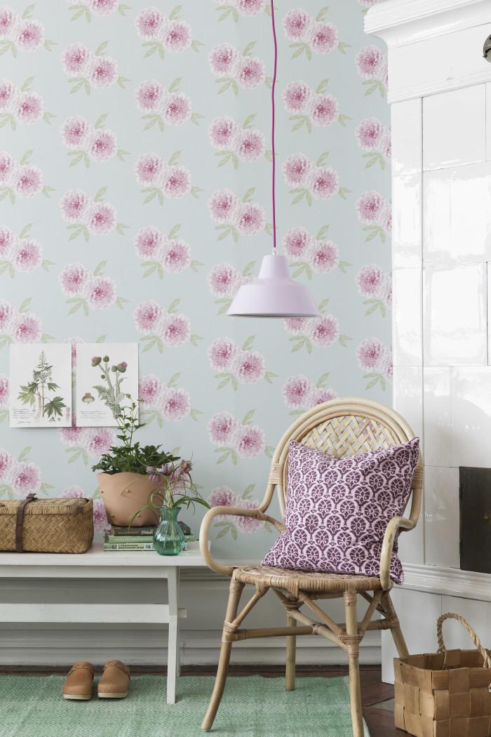 blomster-tapet-boraas-indretning