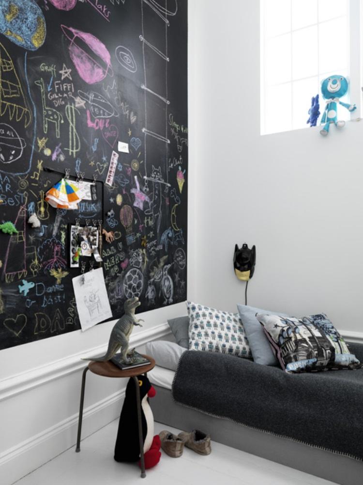 Rørig Børenværelset: Her må man tegne på væggen – Beckers Maling VI-74