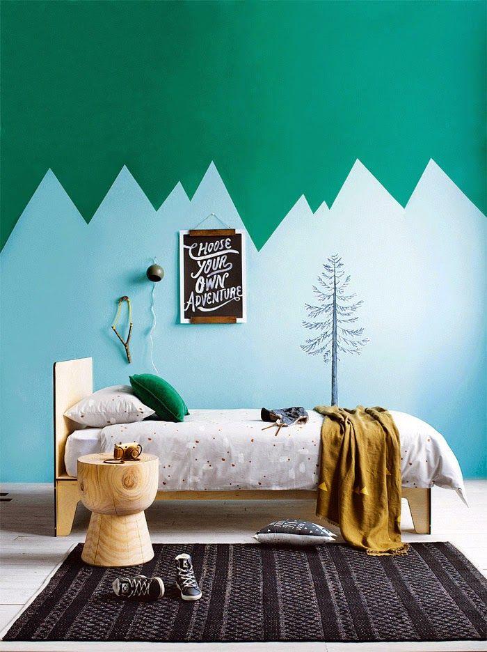bjerge på væggen2